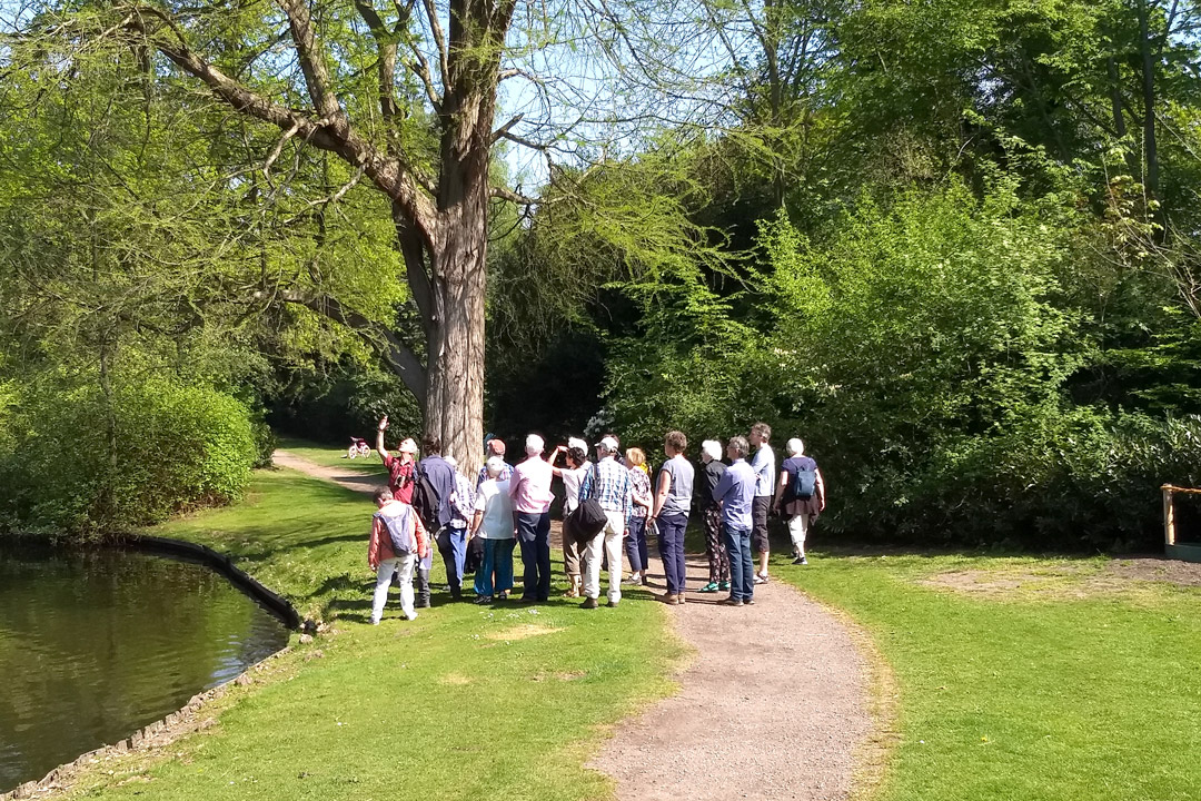 boomwandeling 21 april 2019